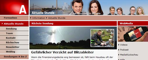> WDR Aktuelle Stunde
