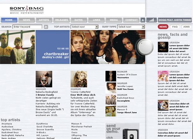 > Sony BMG