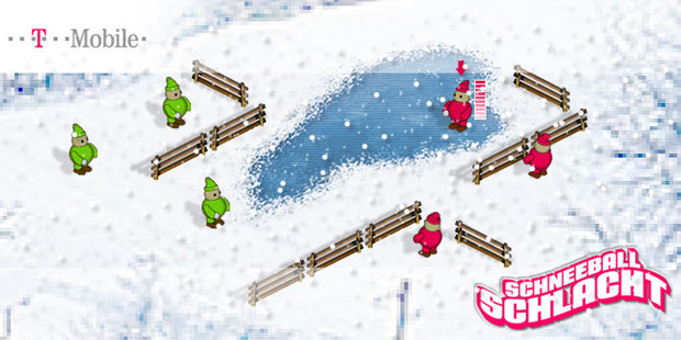 > T-Mobile Snowball Game