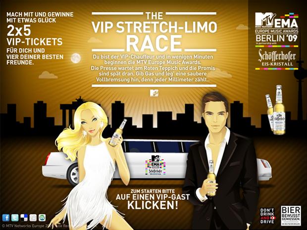 MTV   STRETCH LIMO RACE