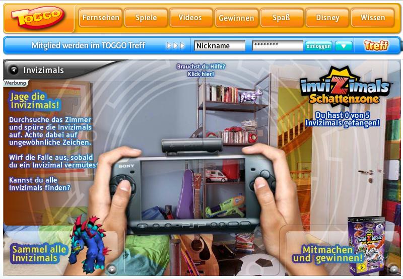 Sony PSP – Invizimals