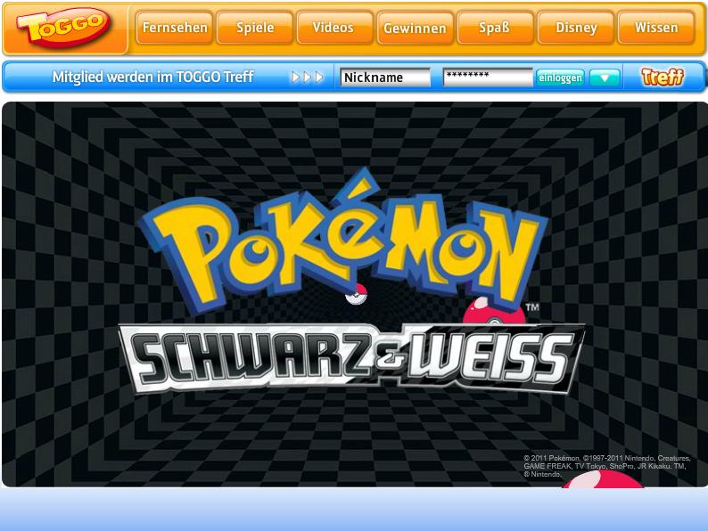 Toggo.de – Pokemon Videoplayer
