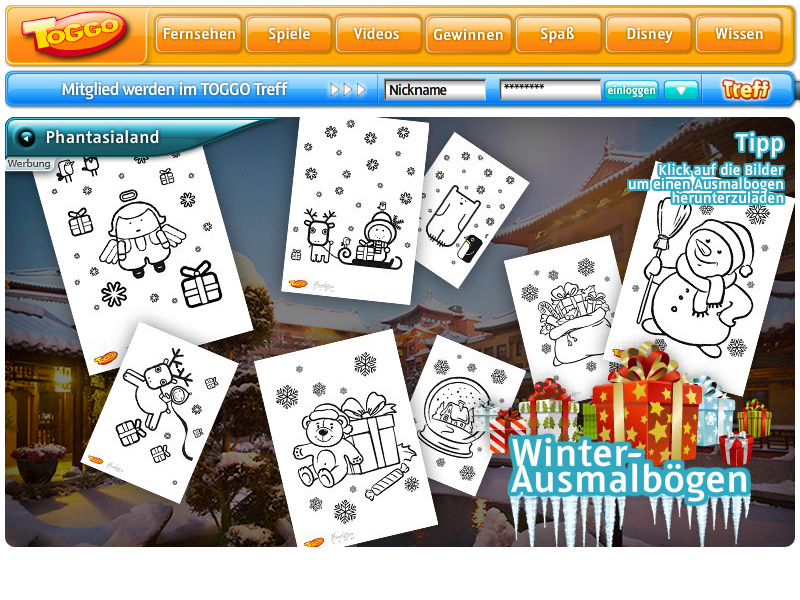 Phantasialand Winter-Special 2011 / 2012