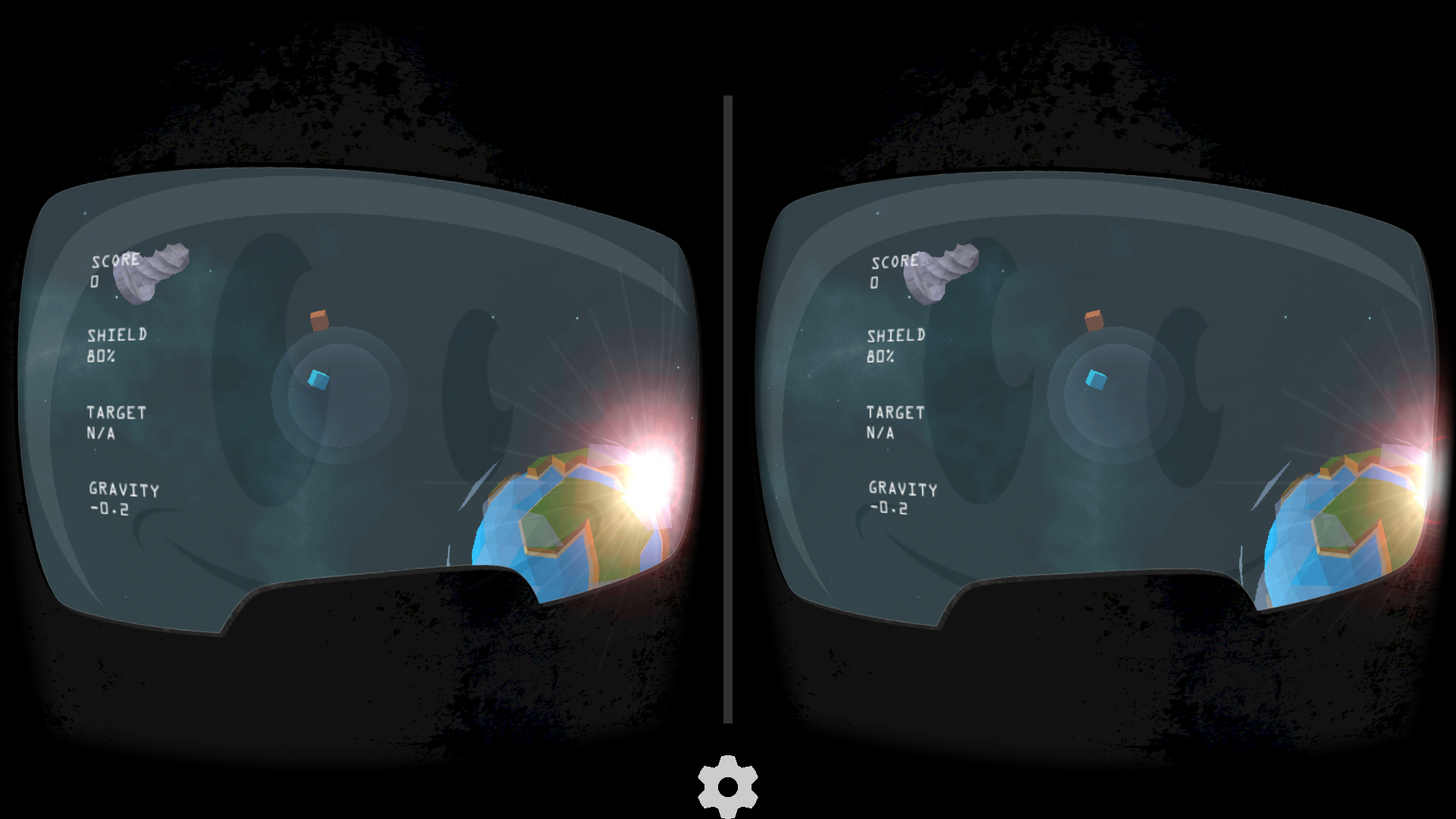 WAA! VR / When Asteroids attack!