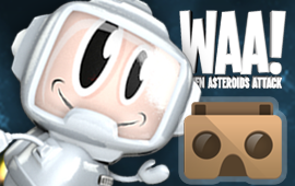 WAA! VR / When Asteroids attack!