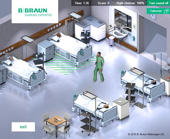 B.Braun Hands Clean Game
